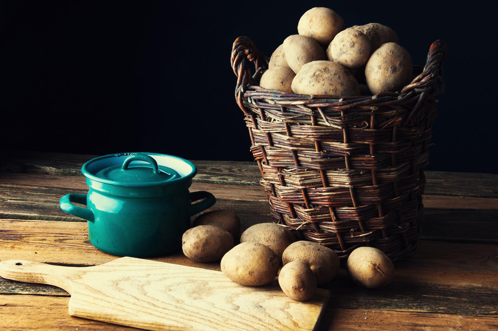 Peel Potatoes Easy